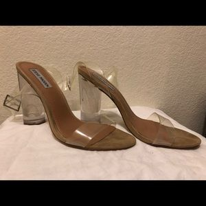 Steve Madden Clear Sandals